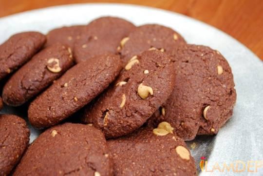 Bánh quy hạnh nhân sô cô la
