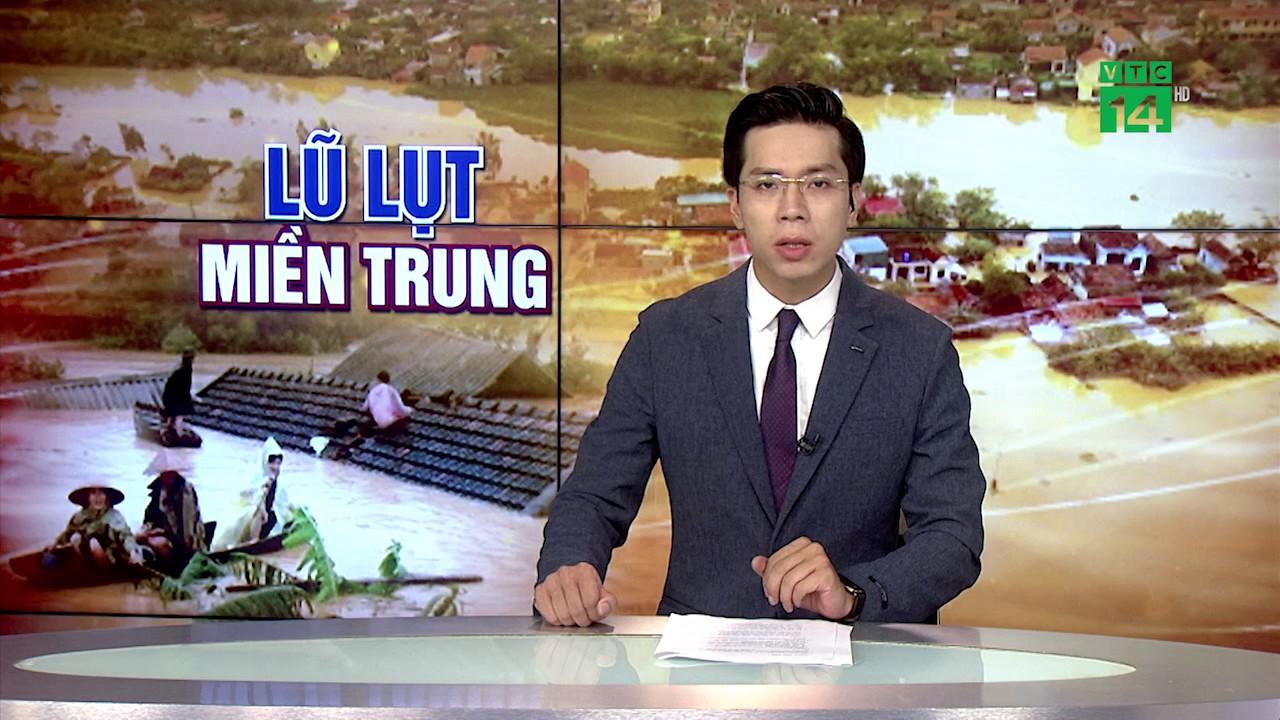 Hà Tĩnh: Nhiều địa phương vẫn bị ngập và chia cắt