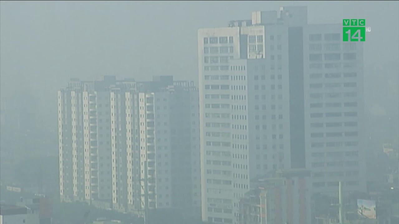 Nồng độ bụi mịn ở Hà Nội cao nhất 5 năm qua