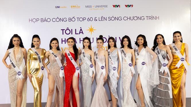 Lộ diện Top 60 Hoa hậu Hoàn vũ 2019