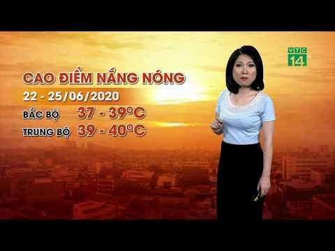 Thời tiết sáng 23/06/2020: Nắng nóng gay gắt tại Bắc Bộ và Trung Bộ