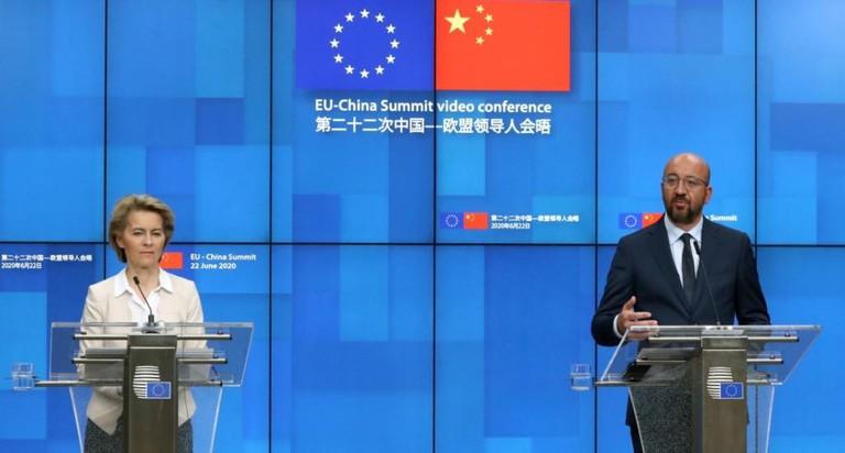 Hội nghị thượng đỉnh trực tuyến EU-Trung Quốc