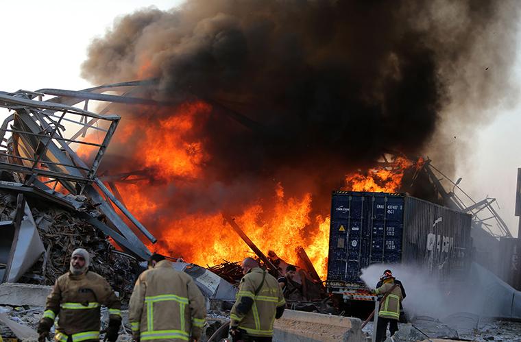 Thế giới hướng về Lebanon sau vụ nổ kinh hoàng ở Beirut
