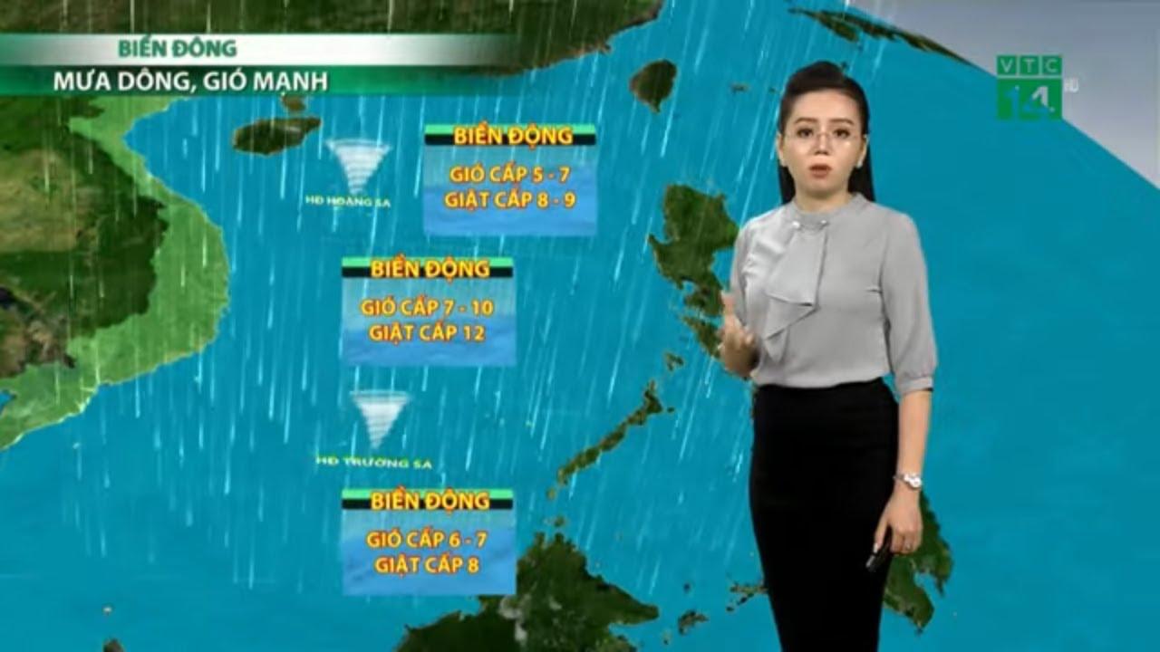Thời tiết 3 ngày tới (17-19/09/2020): Ảnh hưởng từ bão, mưa dông gia tăng