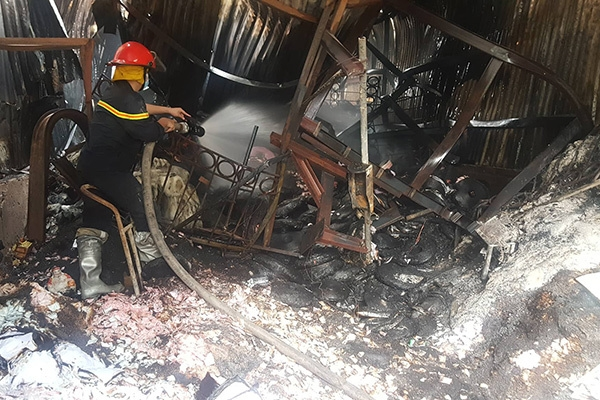 Nguy cơ cháy nổ tại các nhà xưởng, kho bãi cho thuê