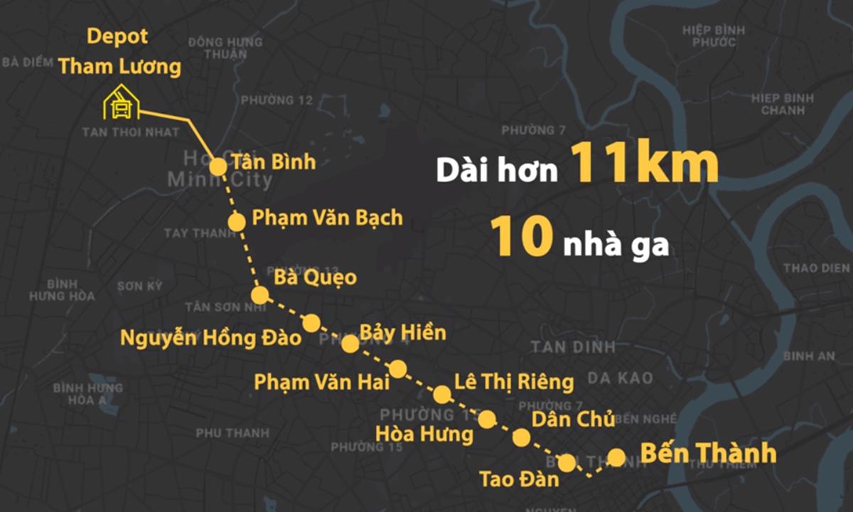 TP HCM: Metro số 2 sẽ thay đơn vị tư vấn