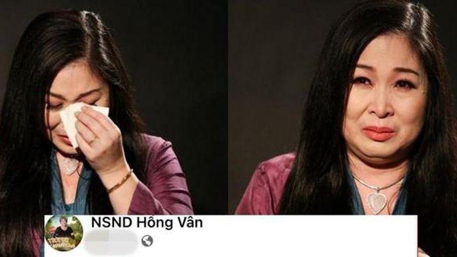 NSND Hồng Vân xin lỗi khán giả vì quảng cáo sản phẩm không đúng sự thật